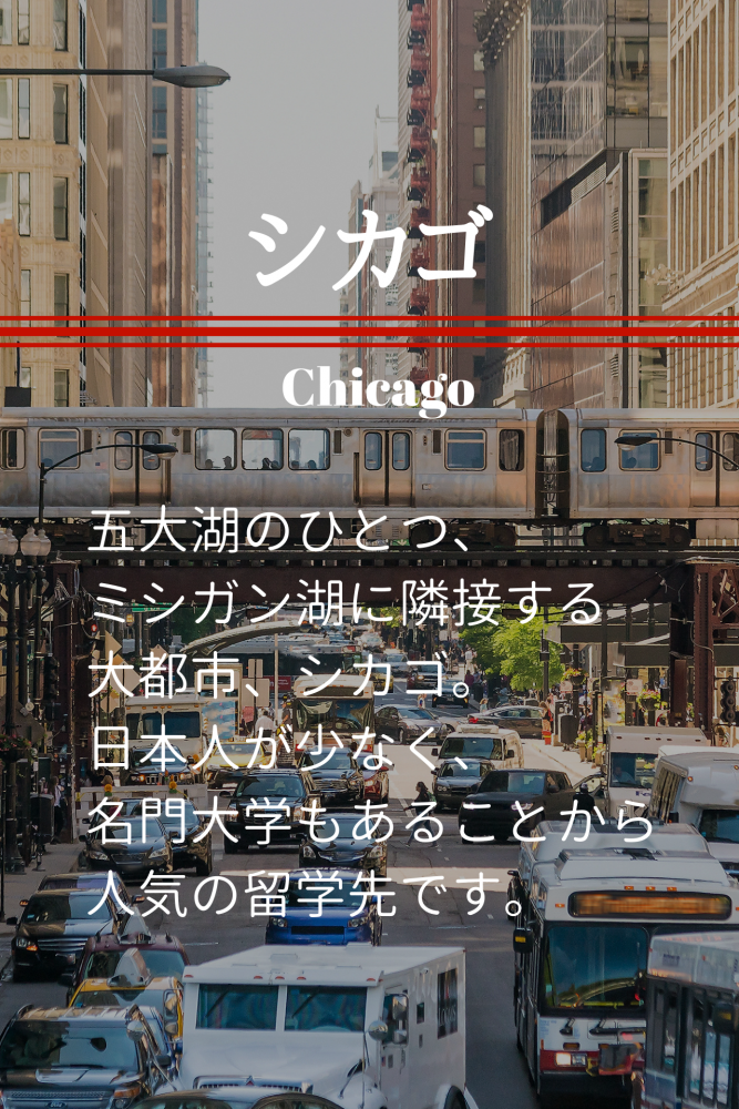 シカゴ留学sp